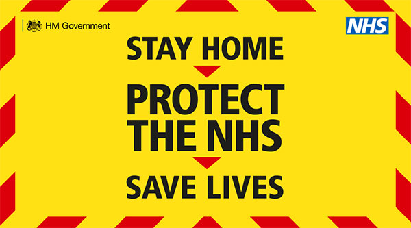 Stay home Project the NHS, save lives